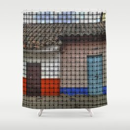 Home is Not a Place, It's a Feeling. Shower Curtain