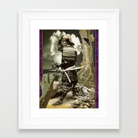 fallout Framed Art Prints featuring Fallout by Danielle Tanimura