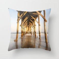 Pier III Throw Pillow