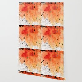 Red Abstract Art - Taking Chances - By Sharon Cummings Wallpaper