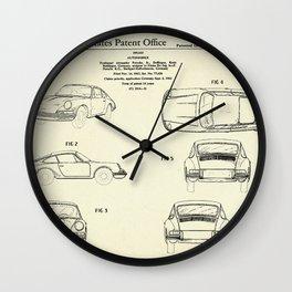 Automobile Porsche-1964 Wall Clock