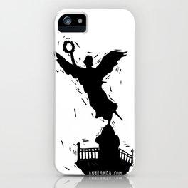 El Angel de la Independencia iPhone Case
