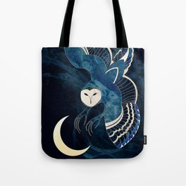 Ancient Shadow Passes over an Ageless Moon Tote Bag