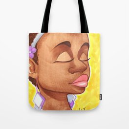 Spring Chick Tote Bag