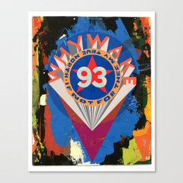 A Valentine to Robert Indiana Canvas Print