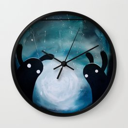 mosters playground Wall Clock