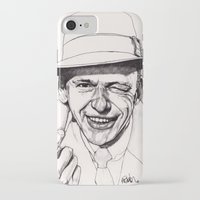 frank iPhone & iPod Cases featuring Frank by Paul Nelson-Esch Art
