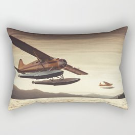 Flying in the Sunset Rectangular Pillow