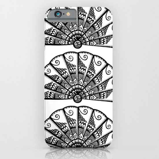 Triple Fan iPhone & iPod Case