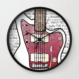 Music for the Soul & Spirit - White Series Wall Clock