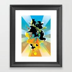 Illustration Framed Art Print