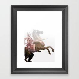 Defend the Castle Framed Art Print