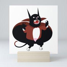 I WILL LAP UP YOUR SOUL !! Mini Art Print