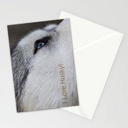 Husky eye Stationery Cards