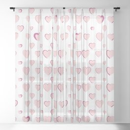 Made for you my heart 29 Sheer Curtain