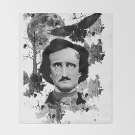Poe Throw Blanket