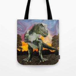 Tyrannosaurus Rex at the Twilight Hour Tote Bag