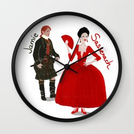 Vive le Frasers! Wall Clock