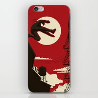 kitchen iPhone & iPod Skins featuring Hell's Kitchen by Danny Haas