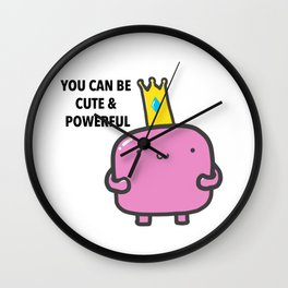 Cute and powerful Wall Clock