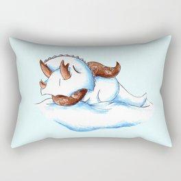 Snowceratops Rectangular Pillow