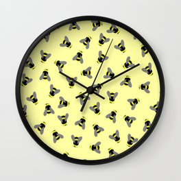 Scatterbees Wall Clock