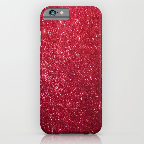 Red Glitter iPhone & iPod Case