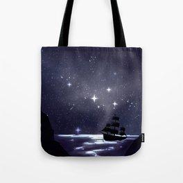 Sailing Stars Tote Bag