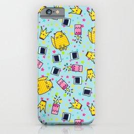 Cute Happy Cat Pattern iPhone Case