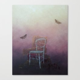 More Moths Canvas Print
