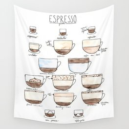 espresso ii Wall Tapestry
