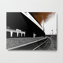 Bridge 2 Metal Print