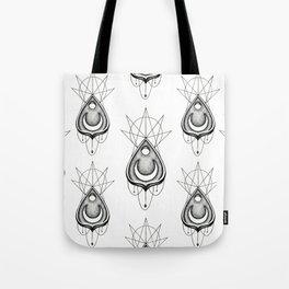 Dotwork Planchette Tote Bag