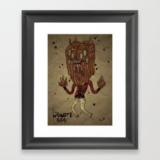 the Werewolf Framed Art Print