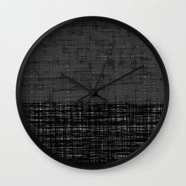 platno (gray) Wall Clock