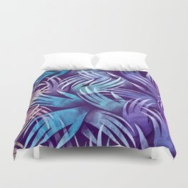 In the Icy Air of Night Duvet Cover