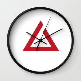 Witcher sign - IGNI Wall Clock