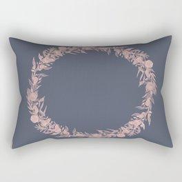 Dawn of Flowers, Rose. Rectangular Pillow