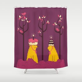 Do You Like My Hat? Shower Curtain
