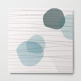 Coit Pattern 24 Metal Print