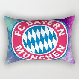 Bayern Munchen Galaxy Design Rectangular Pillow