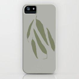Gum Leaves iPhone Case