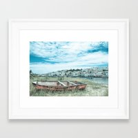 portugal Framed Art Prints featuring Portugal by Sandy Broenimann