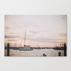 Balboa Sunset Canvas Print