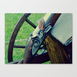 Old Muzzleloader  Canvas Print
