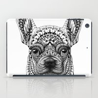 frenchie iPad Cases featuring Frenchie by BIOWORKZ