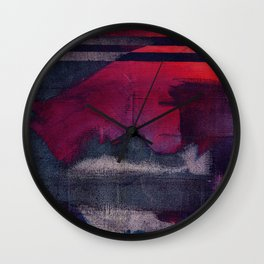 i dont want to tell your mouth and tongue from mine Wall Clock
