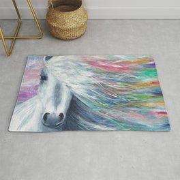 Rainbow Horse Rug