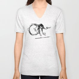 dripping little things Unisex V-Neck