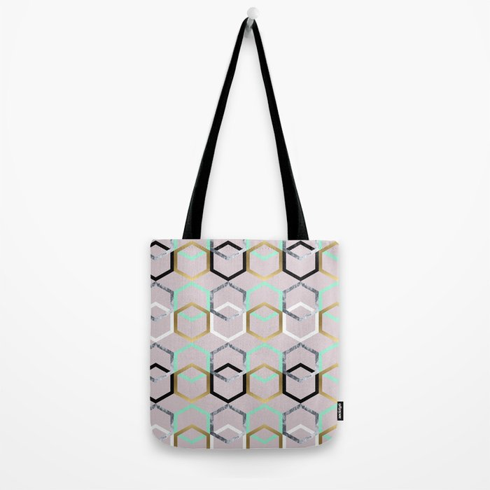 Textures and Interceptions Tote Bag